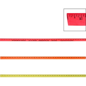 "Fluorescent Colorful Enameled Yardstick (36"")"