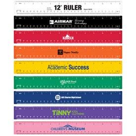 "Plastic Ruler (12"")"