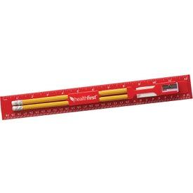 Plastic Ruler Stationary Kit