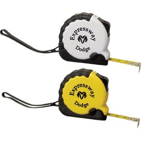 Heavy Duty Tape Measure With Rubber Trim (10. Ft.)