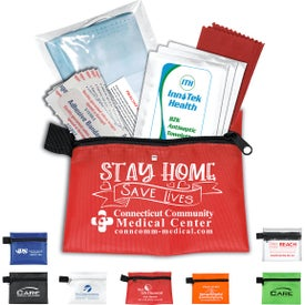 Antiseptic and Protective Health Living Packs in Zipper Pouch