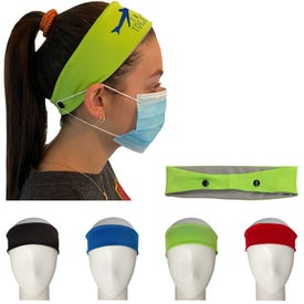 Cooling Headbands with Mask Support (Unisex)