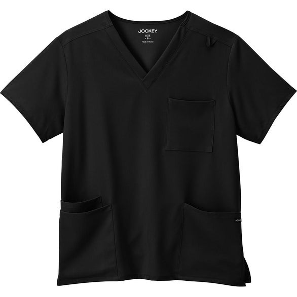 Black Jockey Scrubs Four Pocket Top