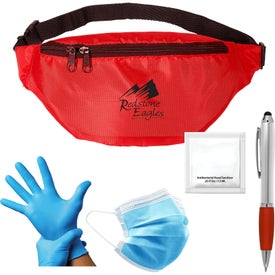 On-The-Go PPE Kit (Unisex, Screen Print, Colors)