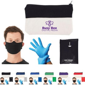 On-The-Go PPE Kit (Unisex, Ink Imprint, Colors)
