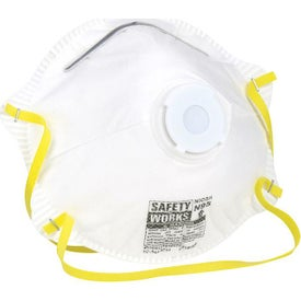 Safety Works N95 Respirator with Exhalation Valve