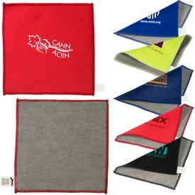 Double-Sided Microfiber Cleaning Cloths
