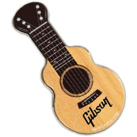Acoustic Guitar Shaped Mint Tin