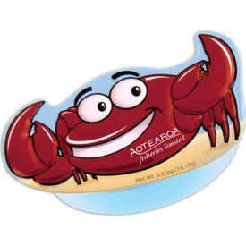 Crab Shaped Mint Tins (0.5 Oz.)