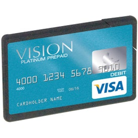 Flat Plastic Mint Card
