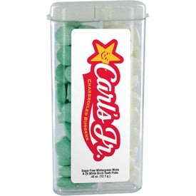 Sugar Free Mints in Rectangular Flip Top Dispenser