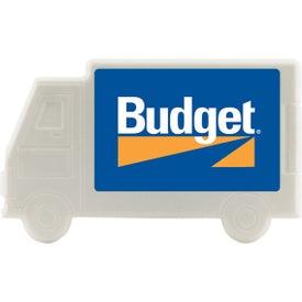 Truck Plastic Mint Card