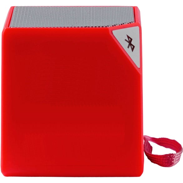Red Cube Bluetooth Speaker with Microphone
