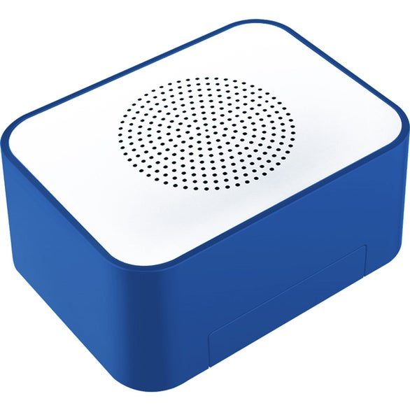 Blue Lean On Me Wireless Speaker with Phone Stand