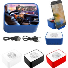 Lean On Me Wireless Speaker with Phone Stand