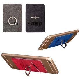 Leeman RFID Phone Pocket With Metal Ring Phone Stand