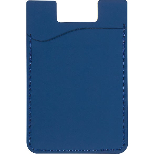Royal Blue Magnetic Auto Air Vent Phone Wallet