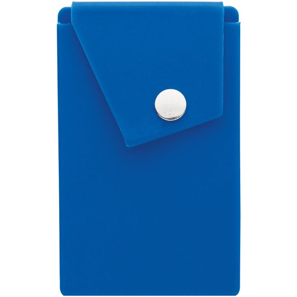 Blue Marsala Phone Wallet and Stand