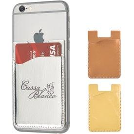 Metallic Phone Wallet