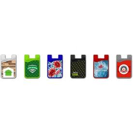 Minimalist Phone Wallet with Microfiber Cloth
