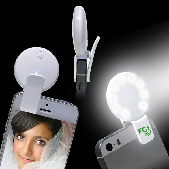 Action Photo Round Selfie Fill Light