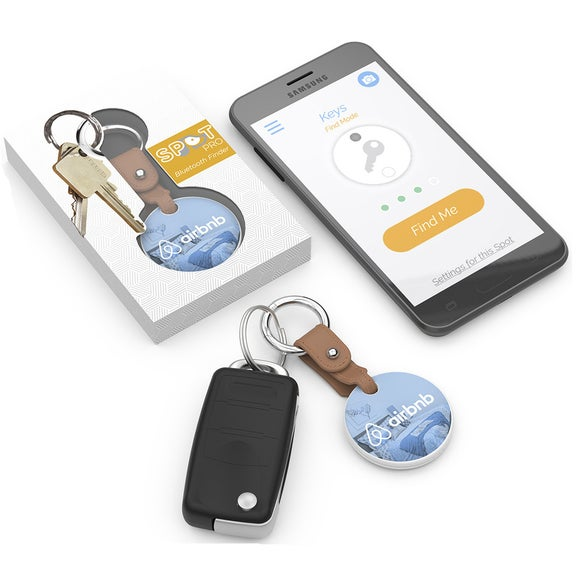 White Spot Pro Bluetooth Finder and Key Chain