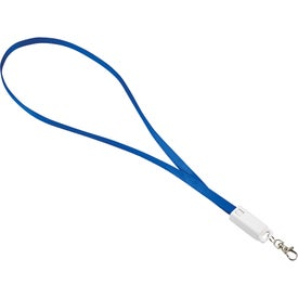Trace 3-in-1 Charging Cable with Lanyard