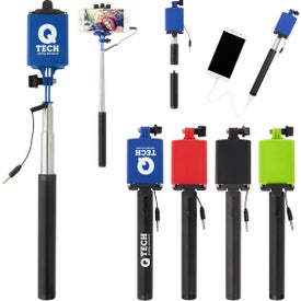 UL Listed Power Bank Selfie Stick