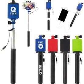 UL Listed Power Bank Selfie Stick