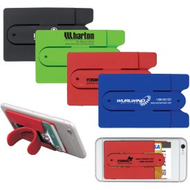 Kickstart Silicone Cell Phone Kickstand and Wallet