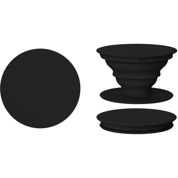 Black PopSocket Grip Stand with Mount