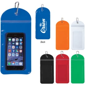 Splash Proof Phone Pouches with Carabiner