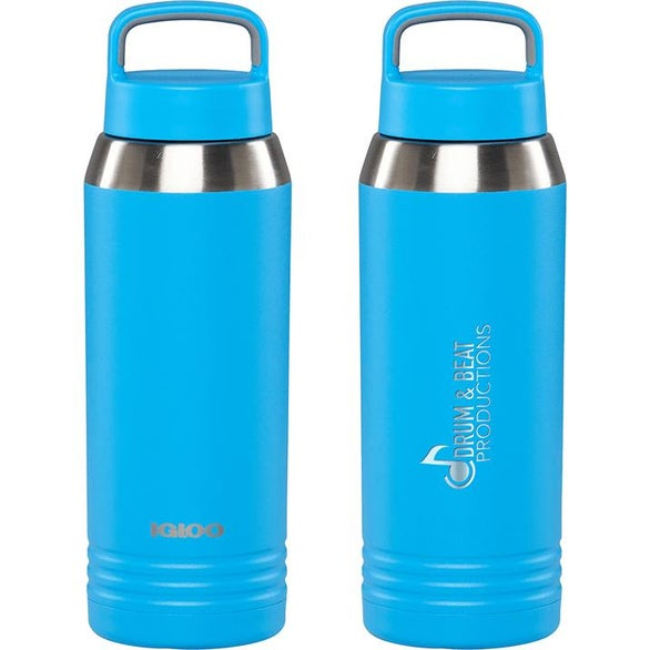 Light Blue Igloo Vacuum Insulated Bottle