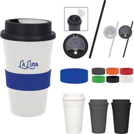 Travel Tumblers with Straw (16 Oz.)
