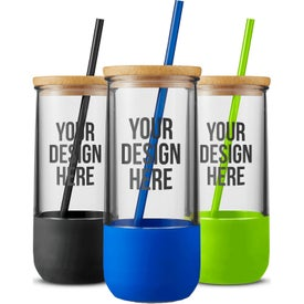 Vivify Straw Tumblers with Silicone Grip (20 Oz.)