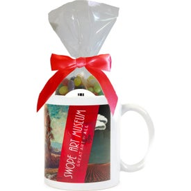 Mugs with Gourmet Jelly Beans Mug Drop