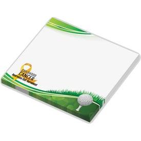 "Post-It Custom Printed Notes (3"" x 3"", 50 Sheets)"