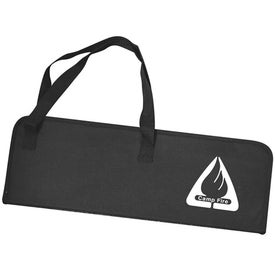 10 Piece BBQ Set In Soft Case Branded with Your Logo