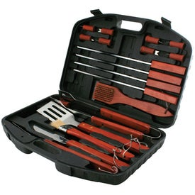 18 Piece Barbeque Set for Promotion