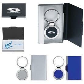 2 In 1 Key Tag / Business Card Holder