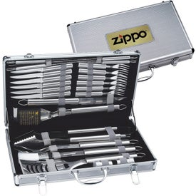 24 Piece Deluxe BBQ Sets