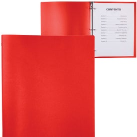 3 Ring Binder with Your Slogan