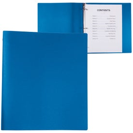 Advertising 3 Ring Binder