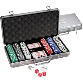 300 Piece Titanium Poker Set