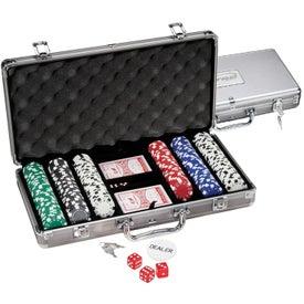 300 Piece Titanium Poker Set for Your Organization