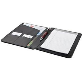 Branded 30Pg Bonded Leather Folder