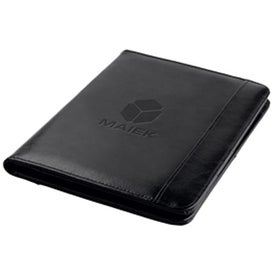 Logo 30Pg Bonded Leather Folder