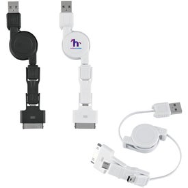 Logo 3 In 1 iPhone Charging Cable