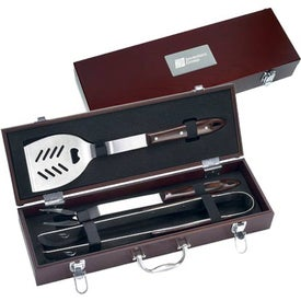 3 Piece Executive Barbecue Set for your School