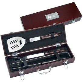 3 Piece Executive Barbecue Set